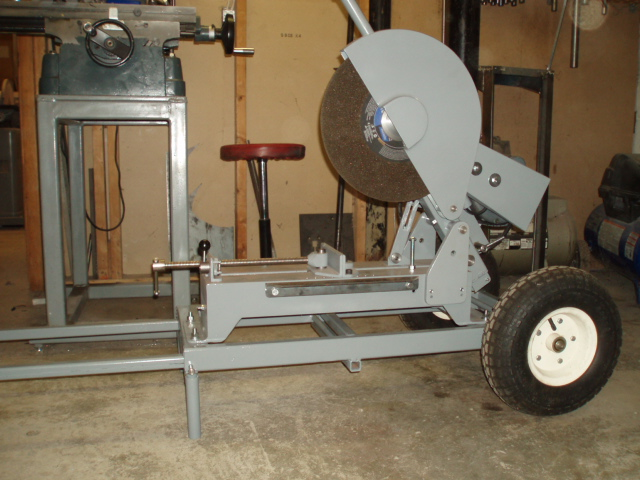 Homemade Chop Saw Pic 2 Sold