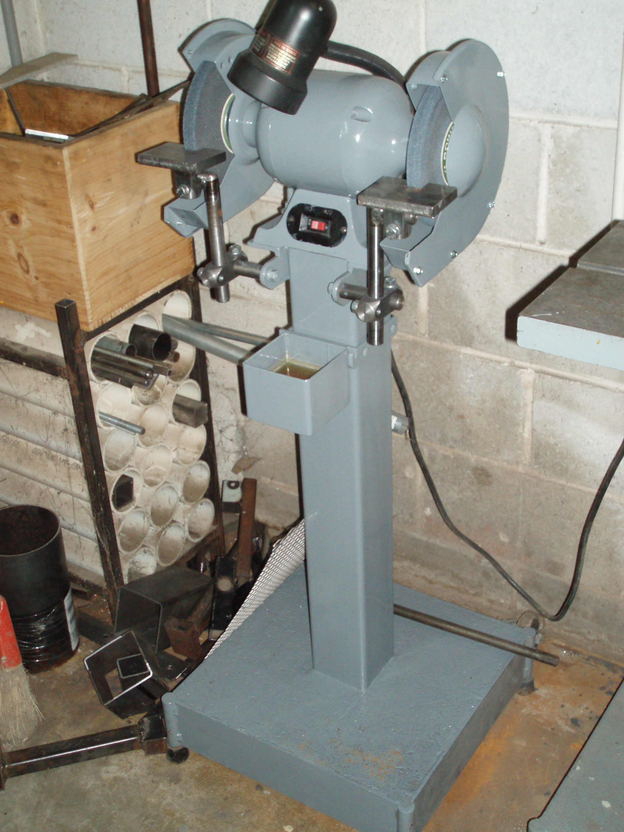 Homemade Pedestal Grinder Homemadetools Net